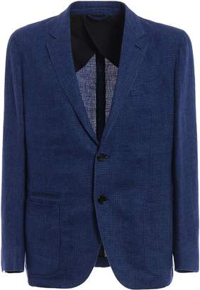 Ermenegildo Zegna Denim Single-breasted Blazer