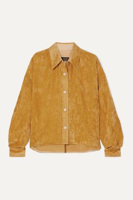 Isabel Marant Fanao Corduroy Shirt - Mustard