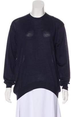 Stella McCartney Virgin Wool-Blend Long Sleeve Top