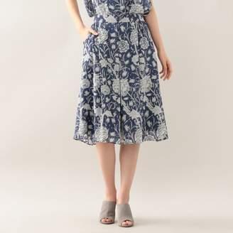 MACKINTOSH LONDON ウィメン 【ウォッシャブル】フラワープリントシフォンプリントスカート