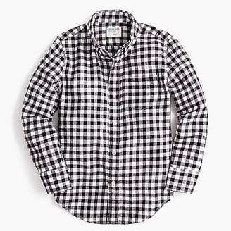 J.Crew Boys' lightweight flannel shirt in checks