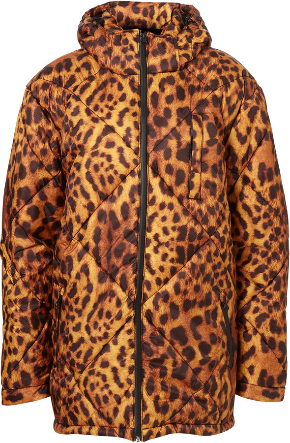 Leopard Ski Coat by Ashish**