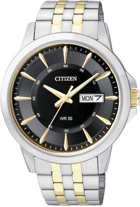 Citizen Men Two-Tone Stainless Steel Bracelet 41mm BF2018-52E