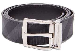 Burberry London Check Reversible Belt - Mens - Grey