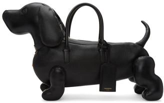 Thom Browne Black Hector Bag $2,595 thestylecure.com