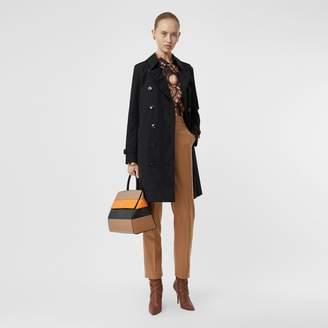 Burberry Kensington Fit Cotton Gabardine Trench Coat