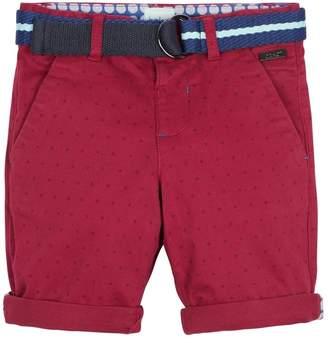 Ted Baker Girls Purple Printed Chino Shorts - Purple