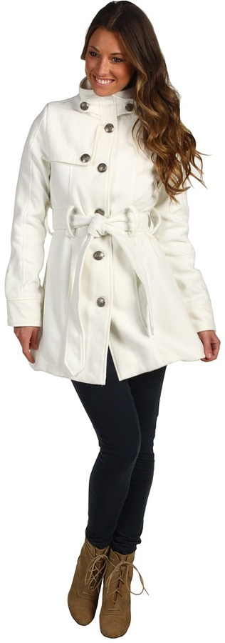 BB Dakota Connell Coat (Ivory) - Apparel