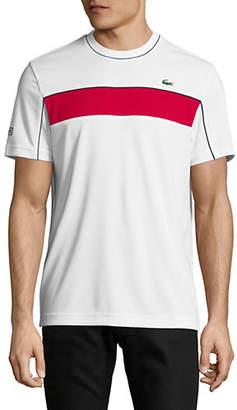 Lacoste Contrast Stripe T-Shirt