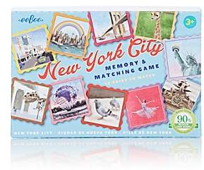 Eeboo New York City Memory & Matching Game