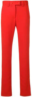 MSGM side stripe detail trousers