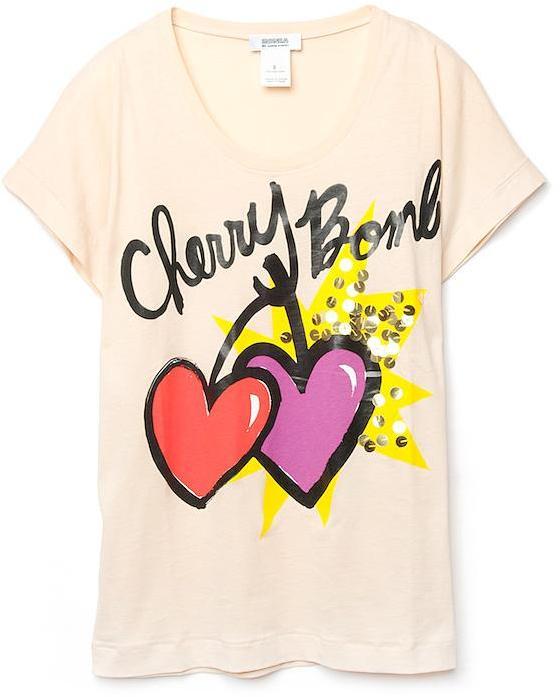 Sonia by Sonia Rykiel 'Cherry Bomb' T-Shirt