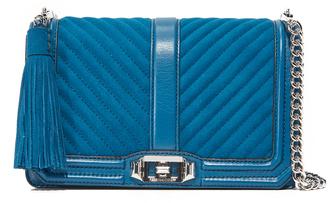 Rebecca Minkoff Love Cross Body Bag with Tassel $295 thestylecure.com