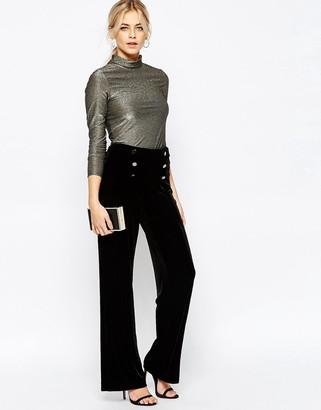 Oasis Velvet Pants $95 thestylecure.com