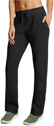 Champion Fleece Open-Bottom Pants $30 thestylecure.com