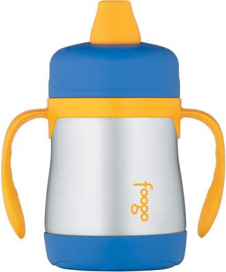 Thermos FOOGO Vacuum Insulated Stainless Steel 7-Ounce Soft Spout Sippy Cup with Handles