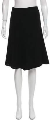 Lida Baday Wool Knee-Length Skirt w/ Tags