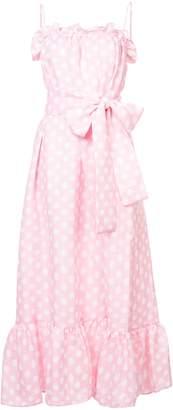 Lisa Marie Fernandez Liz Polka Dot Maxi Dress