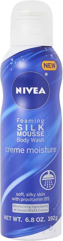 Nivea Silk Mousse Body Wash Creme Moisture Image