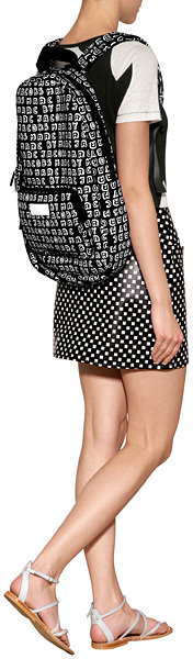 Marc by Marc Jacobs Logo Print Backpack