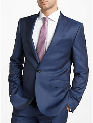 John Lewis Tonic Wool Mohair Tailored Fit Suit Jacket