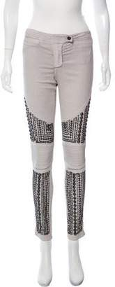 Sass & Bide Embellished Mid-Rise Pants