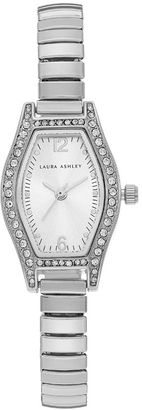 Laura Ashley Women's Crystal Expansion Watch $345 thestylecure.com