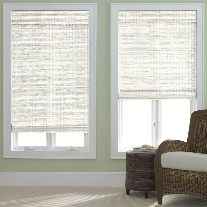 JCP HOME JCPenney HomeTM Bamboo Woven Wood Roman Shade