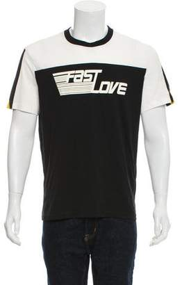 Givenchy Fast Love Print T-Shirt