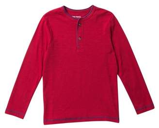 Joe Fresh Long Sleeve Henley Tee (Big Boys)