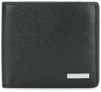 Boss Hugo Boss textured portfolio wallet $181.16 thestylecure.com