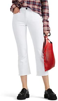 Current/Elliott Women's The Kick Mid-Rise Flared Jeans