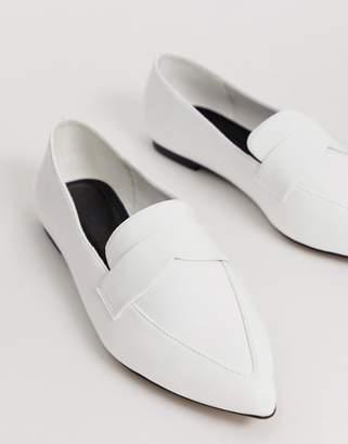 Asos Design DESIGN Limber pointed loafer ballet flats