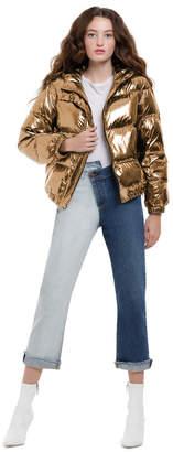 Alice + Olivia Durham Hooded Puffer Coat