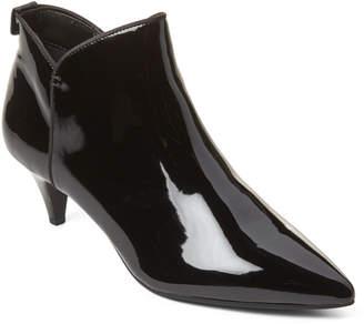 Sam Edelman Black Keri Patent Ankle Booties