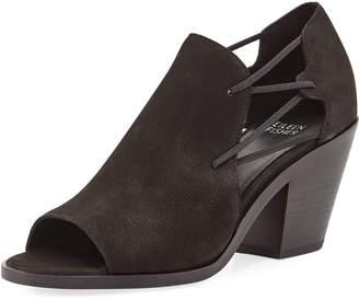 Eileen Fisher Nikki Nubuck Stretch-Strap Sandals