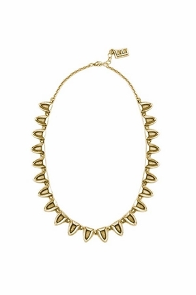 Low Luv by Erin Wasson Multi Plated Tribal Necklace in Gold