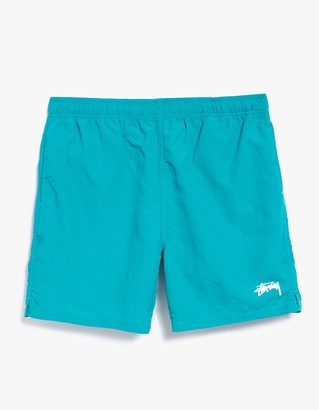 Stock Elastic Waist Short II in Green $55 thestylecure.com