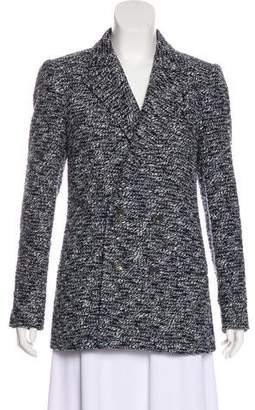 Chanel Tweed Double-Breasted Blazer