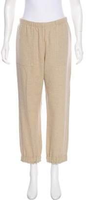 Raquel Allegra High-Rise Wool-Blend Pants w/ Tags