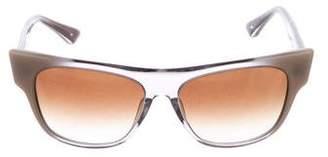 Dita Reflective Wayfarer Sunglasses