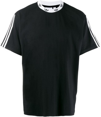 adidas Trefoil ribbed T-shirt