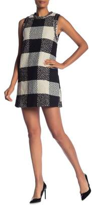 Molly Bracken Check Print Woven Dress