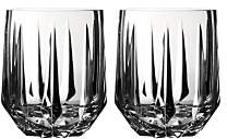 Peplum Double Old-Fashioned Glass, Set of 2