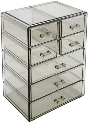 Ideal Ventures LLC/sorbus Sorbus Cosmetic Makeup and Jewelry Storage Case Display - 3 Large 4 Small Drawers