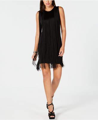 Michael Kors Fringe-Trim Dress