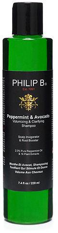 Philip B. Peppermint & Avocado Volumizing & Clarifying Shampoo 7.4 oz (219 ml)