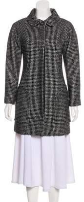Chanel Wool-Blend Tweed Coat
