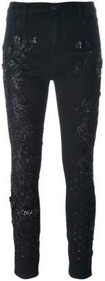 Amen embellished skinny jeans