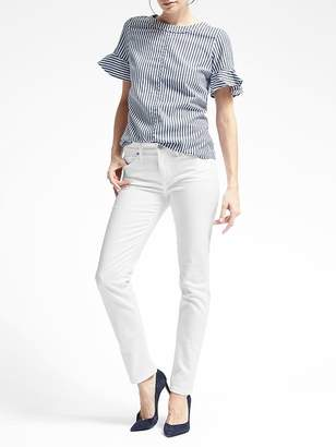 Banana Republic Slim-Straight Stain-Resistant Jean